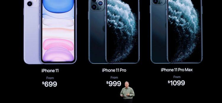 Éste es el precio del iPhone 11 Pro y 11 Pro Max
