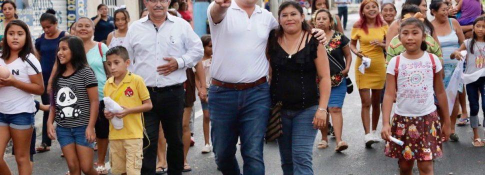 Renán Barrera trabaja a paso firme para mejorar la movilidad urbana y la conectividad en Mérida