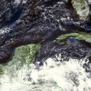 Calor y chubascos en la Península de Yucatán se prevén para esta semana