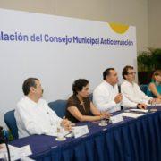 El alcalde Renán Barrera instala el primer Consejo Municipal Anticorrupción