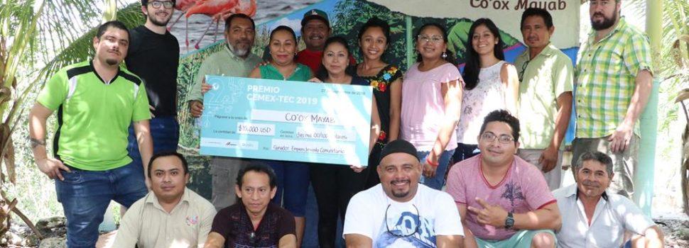 Organización de comunidades mayas Co'ox Mayab ganan premio internacional