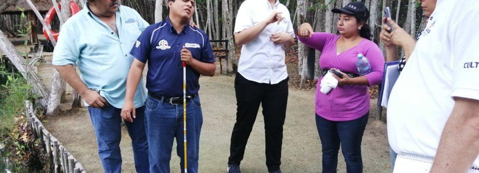 Personas con discapacidad hacen recomendaciones para que El Corchito sea 100% accesible