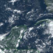 Pronóstico de lluvias para los próximos días en la mayor parte de la Península de Yucatán