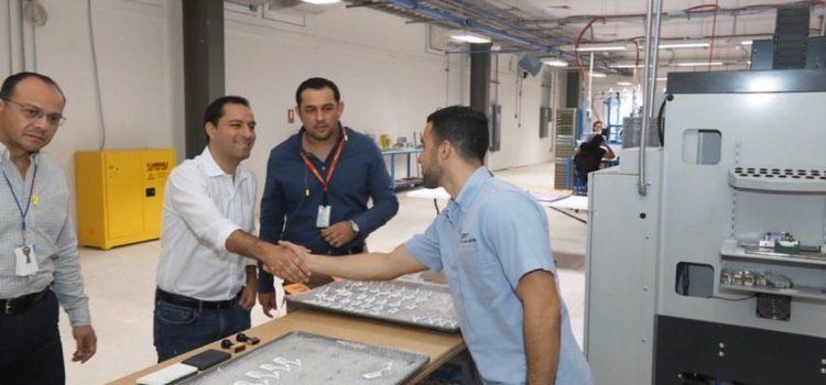 Generación de empleo y crecimiento económico, pilares para la transformación de Yucatán