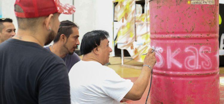 Cereso promueve la reinserción social a través del arte