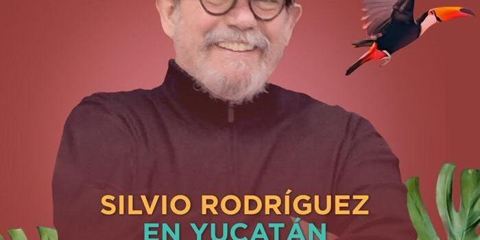 La trova de Silvio Rodríguez llega por primera vez a Yucatán