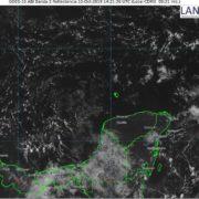 En Yucatán hoy se prevé fuertes chubascos vespertinos por la onda tropical 43