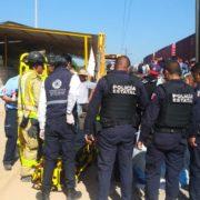Tren embiste camión de pasajeros con saldo de ocho muertos y múltiples heridos en Querétaro