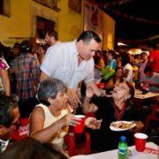 Reactivar la vida económica de los barrios de Mérida, prioridad para Renán Barrera