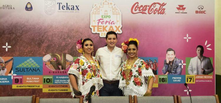Realizan la presentación de la Expoferia de Tekax