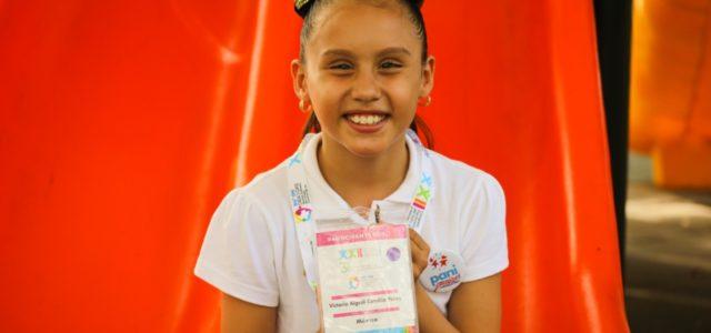 Niña de Acanceh destaca en foro internacional por la infancia