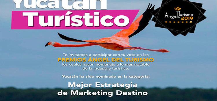 El estado de Yucatán es nominado a los Premios Ángel del Turismo 2019