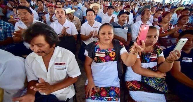 Piden mayas consulta a AMLO sobre Tren Maya
