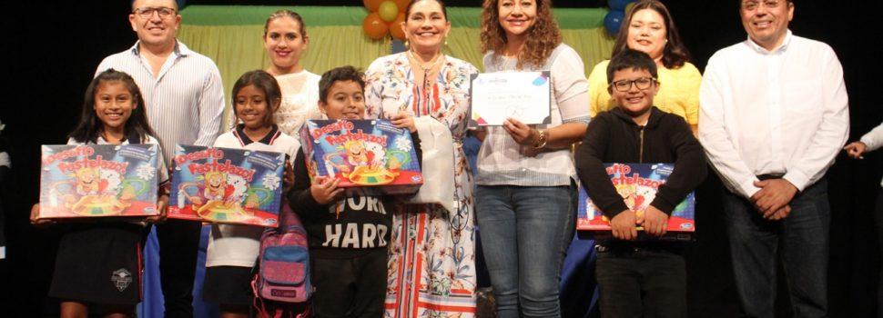 Con actividades lúdicas, el Ayuntamiento de Mérida fomenta los derechos a los menores