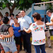 El alcalde Renán Barrera avanza en su compromiso de combatir el rezago en obras y servicios