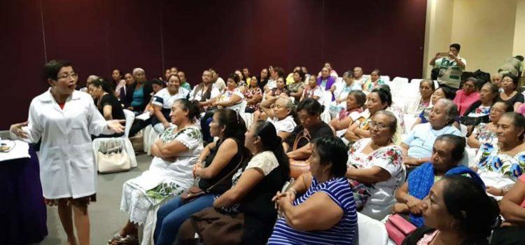 IMSS en Yucatán ofrece capacitación a parteras y voluntarios rurales del programa IMSS Bienestar
