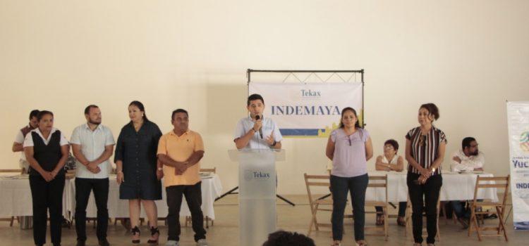 Consulado Americano e Indemaya instalan mesas de atención en Tekax