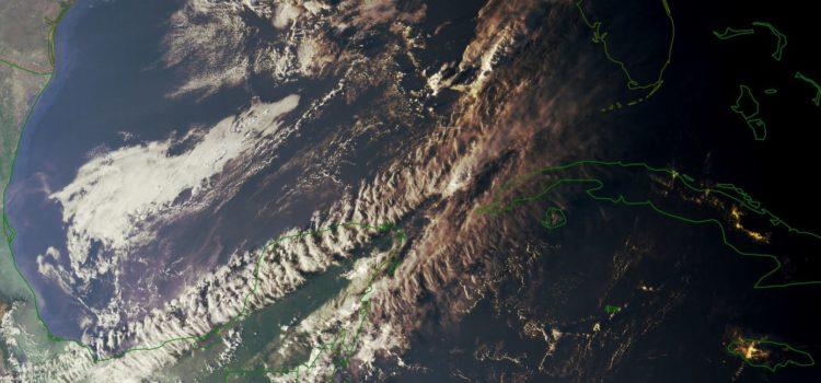 Península de Yucatán con el fin de semana con calor