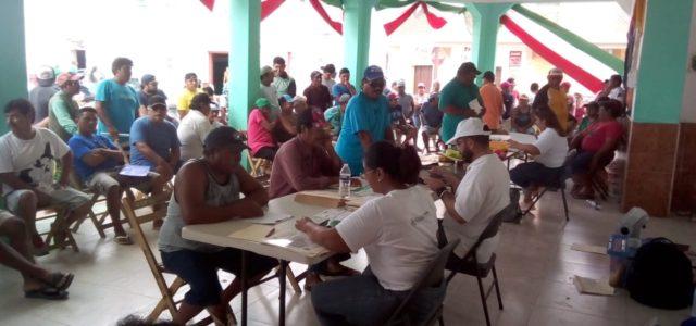 Nuevo censo pesquero beneficiará a familias que viven de esta actividad