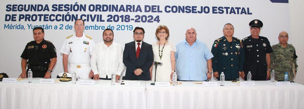 Fortalece el Gobierno del Estado sistema de Protección Civil 2020