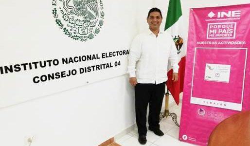 """""""Yucatán destaca en concurso público nacional del INE"""""""