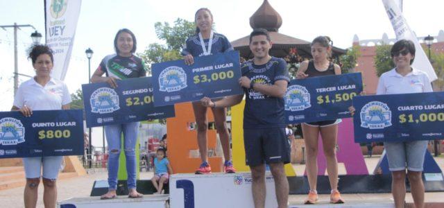 Realizan la carrera Chacmultún-Tekax