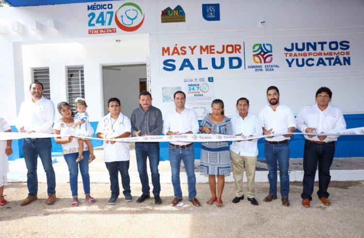 Mauricio Vila continúa llevando a todo el estado servicios de salud, apoyos de vivienda y nuevas obras para fortalecer al sector agrícola