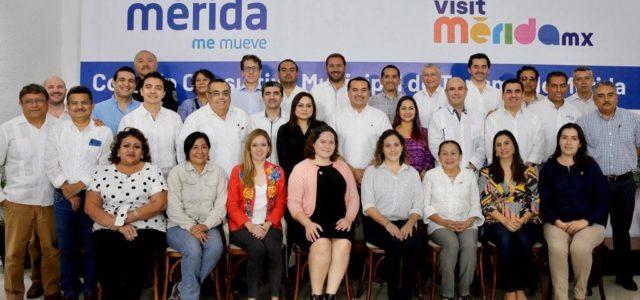 El alcalde Renán Barrera Concha dará mayor impulso y rumbo al desarrollo turístico de la ciudad