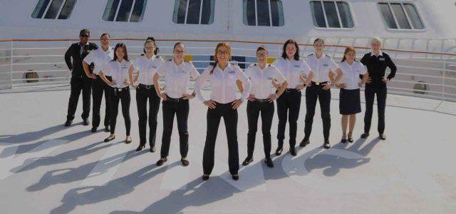 Celebrity Cruises impulsa el primer crucero al mando de mujeres