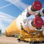 El cohete más poderoso de la NASA con el que quiere mandar humanos a la Luna