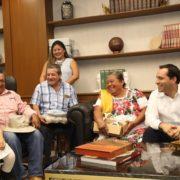 Gobernador Mauricio Vila Dosal se reunió con familiares de migrantes yucatecos