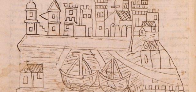 Descubren el dibujo más antiguo en representar Venecia
