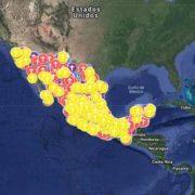 Mujeres crean mapas de alerta para denunciar la violencia de género en México