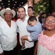 Con un llamado a la unidad, presenta el Gobernador Mauricio Vila Dosal su Primer Informe de Resultados