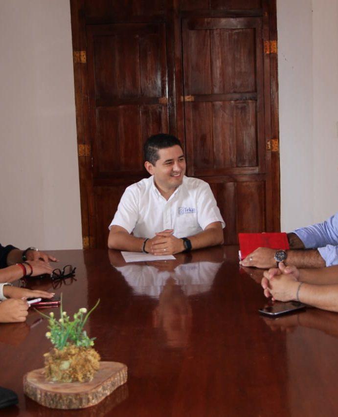 Diego Ávila continúa impulsando el turismo en Tekax