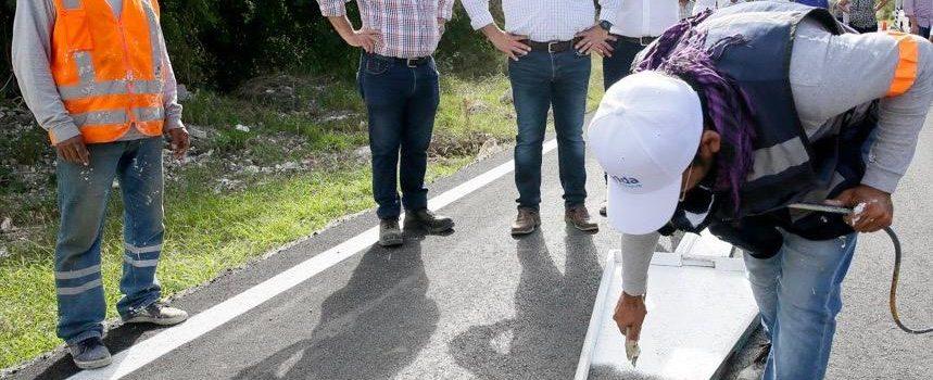 El alcalde Renán Barrera Concha impulsa obras para el desarrollo de las comisarías de Mérida