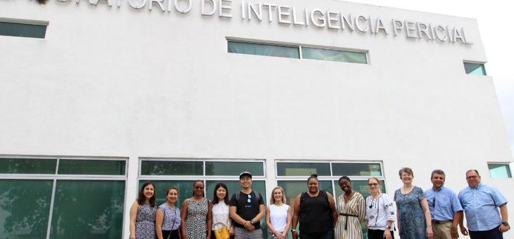 Fiscalía de Yucatán recibe a estudiantes universitarios de Estados Unidos