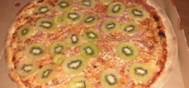 ¿Así que odias la piña en la pizza ? …¿qué te parece con kiwi?