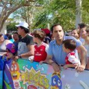 Gobernador Mauricio Vila Dosal convive con las familias yucatecas en la última jornada del Carnaval de Mérida 2020