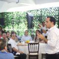 Usuarios y consejeros del Centro Deportivo Bancario de Yucatán a favor de seguir impulsando el desarrollo del Estado