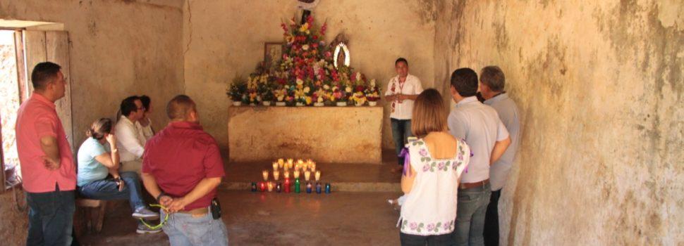 Comunidad de San Marcelino en Tekax con gran preservación de la cultura maya