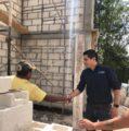 Alcalde de Tekax supervisa las acciones de vivienda que beneficiarán a los habitantes de Pocoboch