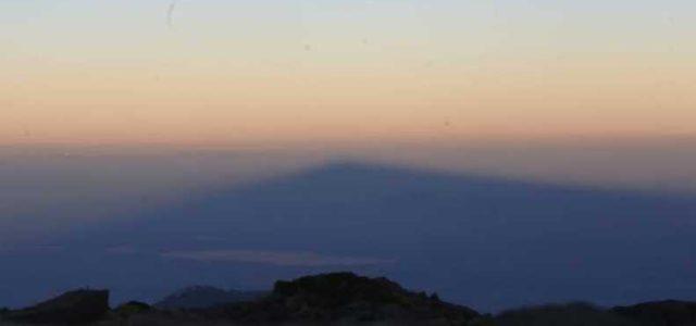 La 'montaña fantasma' que aparece cada año en el Valle de México