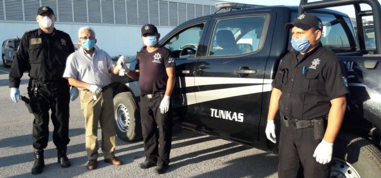 Gobierno de Yucatán entrega seis nuevas camionetas policiacas a tres municipios