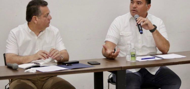 El alcalde Renán Barrera Concha anuncia acciones para generar ahorros directos en las familias