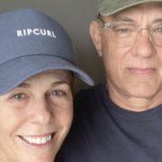 Tom Hanks y Rita Wilson regresan EE.UU. tras superar el coronavirus