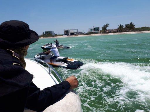 No es momento de pasear en la playa y en el mar, SSP hace un llamado a la responsabilidad ciudadana