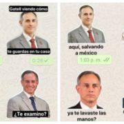 Estos son los stickers de Hugo López-Gatell que darán otro toque a tus conversaciones