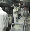 Implementan la sana distancia al interior de las unidades del transporte público