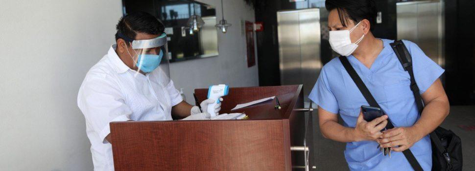 En Yucatán el 90% de los cuartos de hotel donados están ocupados por personal médico